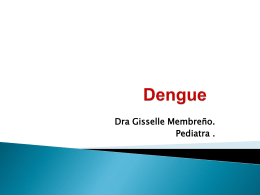 Curso clínico de dengue manejo de casos