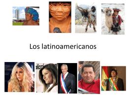 Los españoles latinoamericanos