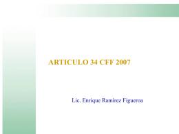 articulo 34 cff 2007