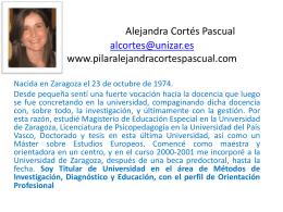 Alejandra Cortés Pascual