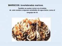 mariscos - Instituto Superior en Gastronomía