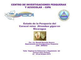Presentacion Nicaragua en Taller Caracol