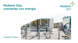 Distribución - Redexis Gas