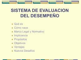 Evaluación del desempeño funcionario