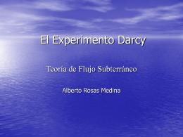 El Experimento Darcy