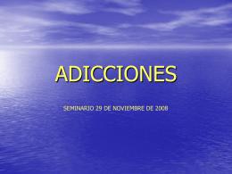 ADICCIONESl