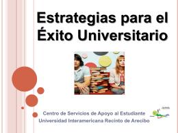 Slide 1 - Recinto de Arecibo
