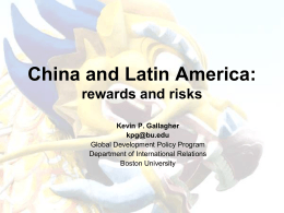 China and the Future of Latin American Industrialization