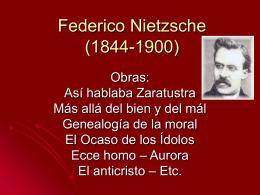 Federico Nietzsche (18