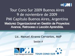 Lic. Manuel Alvarez Cervantes MAP