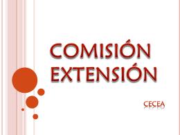 COMISIÓN EXTENSIÓN