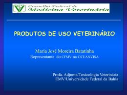Produtos de uso Veterinário