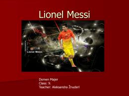 Lionel Messi - Dijaski.net