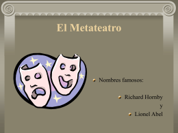 El Metateatro