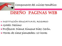 DISEÑO DE PAGINAS WEB1