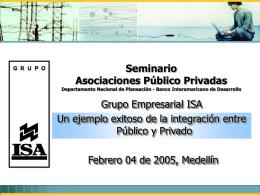ISA un ejemplo exitoso en asociaciones público privadas
