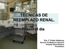 Actualización en Hemofiltración