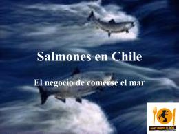 Salmones en Chile - No et mengis el món