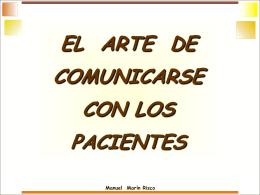 El arte de comunicarse