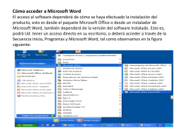 introduccion a software de aplicacion