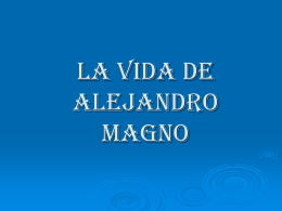 Alejandro Magno - los12olimpicos