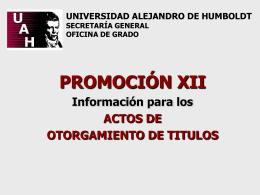 Diapositiva 1 - Universidad Alejandro de Humboldt