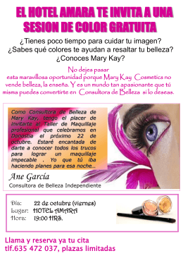 ¿CoNoces Mary Kay?