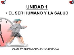 unidad 1 el ser humano y la salud