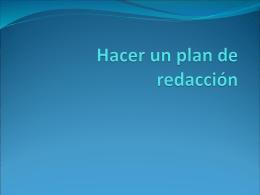 Plan y conectore