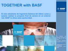 TOGETHER with BASF