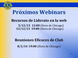 Responsabilidad - Lions Clubs International
