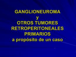tumores retroperitoneales - Sociedad Vasca de Urología