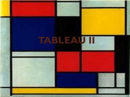 TABLEAU II - lasprimerasvanguardias