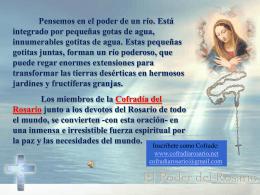 Diapositiva 1 - Asociación y Cofradía del Rosario