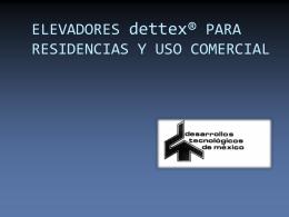 Elevadores residenciales - Centro de Exposiciones Virtuales