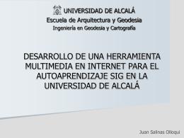 Desarrollo de una herramienta multimedia en Internet para el