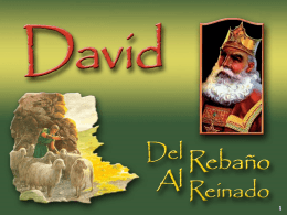 21 – David – Tan Grande Para Perdonar