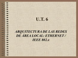 CCNA 1 Chapter 6 Ethernet Technologies and Ethernet Switching
