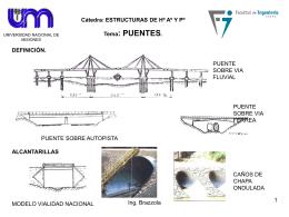Puentes - hormigonarmado