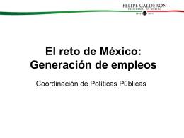 Generación de empleos