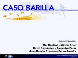 Caso Barilla - PedroAmador.com