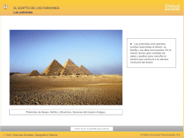 Egipto de los faraones