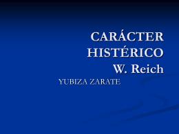 CARÁCTER HISTÉRICO-Yubiza