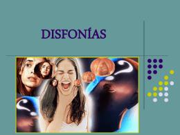 DISFONÍAS.