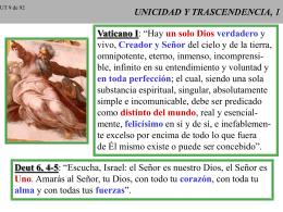 UNICIDAD Y TRASCENDENCIA, 1
