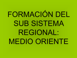 Clase 3 – Formación Regional