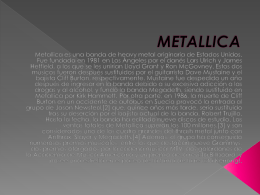 METALLICA - WordPress.com