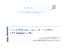 Diapositiva 1 - Chile Libre de Tabaco