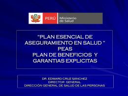 Condiciones asegurables - Congreso de la República del Perú
