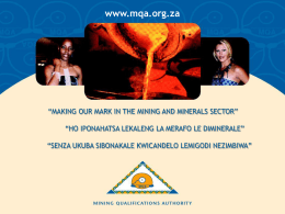 Mining Charter